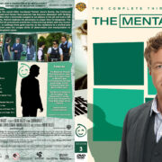 The Mentalist – Season 3 (part of a spanning) (2010) R1 Custom Cover
