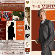 The Mentalist – Season 4 (part of a spanning) (2011) R1 Custom Cover