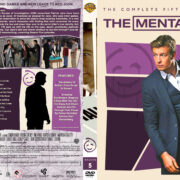 The Mentalist – Season 5 (part of a spanning) (2012) R1 Custom Cover