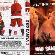 Bad Santa 2 (2016) R0 Custom DVD Cover