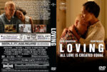 Loving (2016) R0 Custom DVD Cover