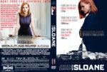 Miss Sloane (2016) R0 Custom DVD Cover
