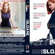 Miss Sloane (2016) R0 Custom DVD Cover