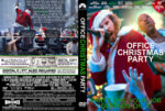 Office Christmas Party (2016) R0 Custom DVD Cover
