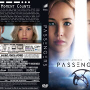 Passengers (2016) R0 Custom DVD Cover