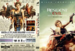 Resident Evil The Final Chapter (2017) R0 Custom DVD Cover