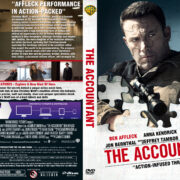 The Accountant (2016) R1 DVD Cover