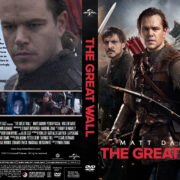 The Great Wall (2017) R1 Custom DVD Cover
