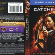 The Hunger Games Catching Fire (2013) R1 Blu-Ray Cover & Labels