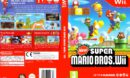 New Super Mario Brothers (2009) PAL Wii Cover