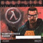 Half-Life Game of the Year Edition (1995) PC Cover & Label
