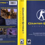 Counter-Strike 1 Anthology (2005) PC Cover & Label