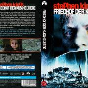 Friedhof der Kuscheltiere (Pet Cemetary) (1989) R2 German Custom Blu-Ray Cover & label