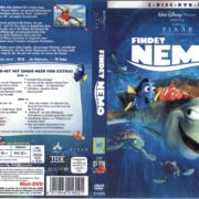 Findet Nemo (2003) R2 German Cover & labels
