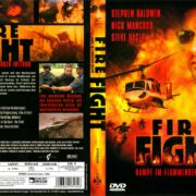 Fire Fight (2003) R2 German Cover & label