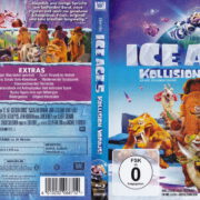 ICE AGE 5 (2016) R2 German Blu-Ray Cover & Label