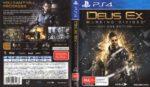 Deus Ex: Mankind Divided (2016) PAL PS4 Cover & Label