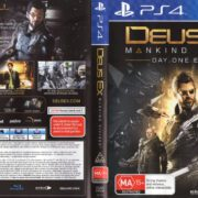 Deus Ex: Mankind Divided (2016) PAL PS4 Cover & Label