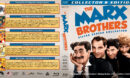 The Marx Brothers - Silver Screen Collection (1929-1933) R1 Custom Blu-Ray Cover