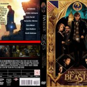 Fantastic Beasts and Where to Find Them (2016) R0 CUSTOM Cover & label