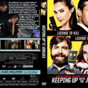 Keeping up with the Joneses (2016) R0 CUSTOM Cover & label