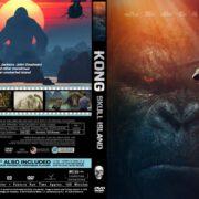 Kong Skull Island (2017) R0 CUSTOM Cover & label