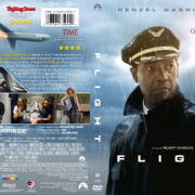 Flight (2012) R1 CUSTOM DVD Cover