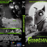 Frankenweenie (2012) R0 Custom DVD Cover
