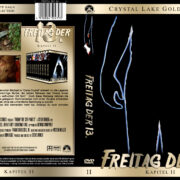 Freitag der 13. - Teil 2 (Crystal Lake Gold Edition) (1981) R2 GERMAN Custom Cover