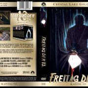 Freitag der 13. - Teil 3 (Crystal Lake Gold Edition) (1982) R2 GERMAN Custom Cover