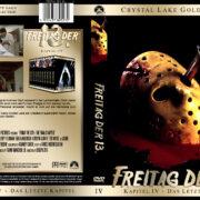 Freitag der 13. – Das letzte Kapitel (Crystal Lake Gold Edition) (1984) R2 GERMAN Custom Cover