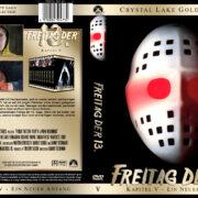 Freitag der 13. – Ein neuer Anfang (Crystal Lake Gold Edition) (1985) R2 GERMAN Custom Cover
