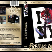 Freitag der 13. – Todesfalle Manhattan (Crystal Lake Gold Edition) (1989) R2 GERMAN Custom Cover
