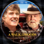 A Walk in the Woods (2015) R1 Custom Blu-Ray Label