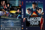 Gangster Squad (2012) R0 CUSTOM DVD Cover