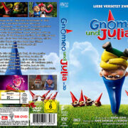 Gnomeo und Julia (2011) R2 GERMAN Custom Cover