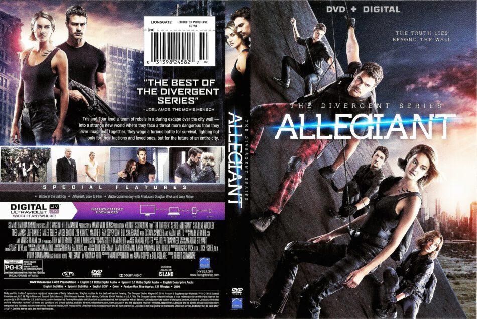 Allegiant Dvd Cover 2016 R1