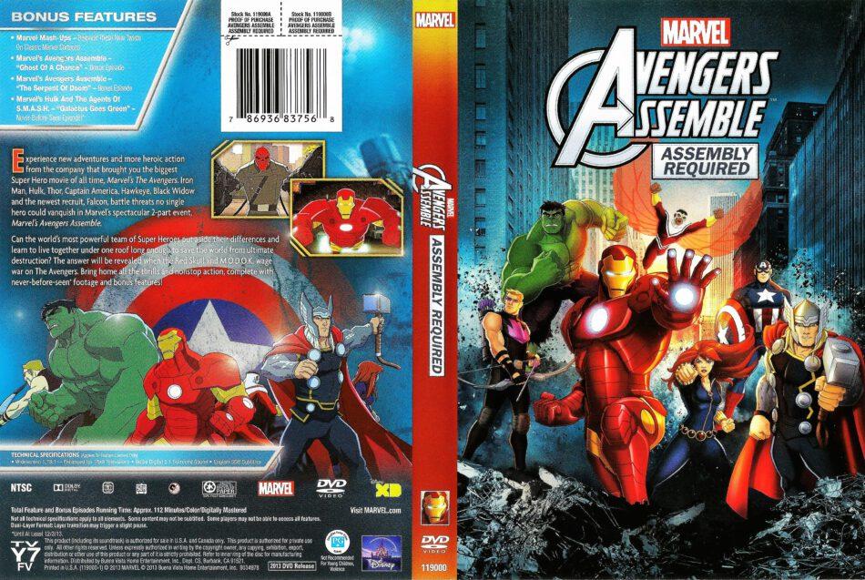 Avengers Assemble Dvd Cover 2013 R1