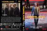 Homeland: Season 6, Volume 1 (2017) R0 CUSTOM Cover & labels