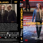 Homeland: Season 6, Volume 1 (2017) R0 CUSTOM Cover & labels