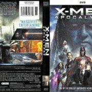 X-Men Apocalypse (2016) R1 DVD Cover