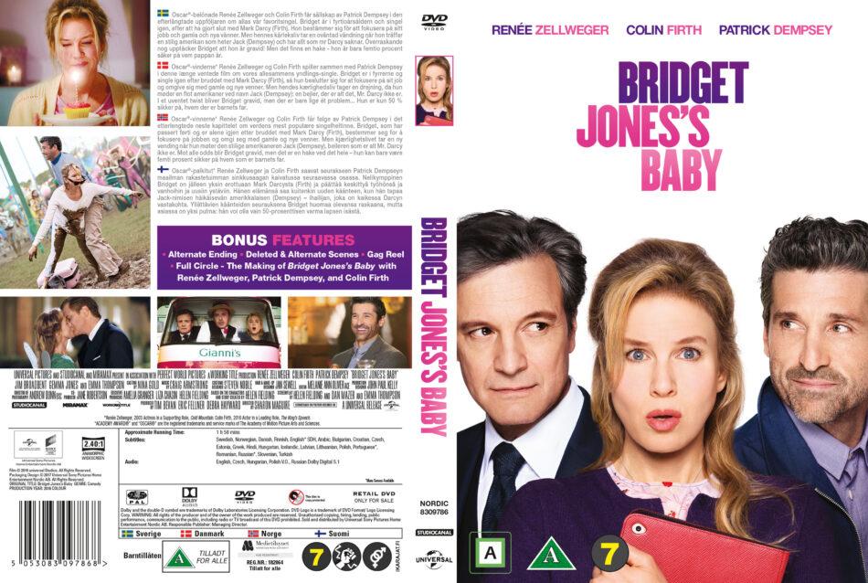 Bridget Jones S Baby Dvd Cover 2016 R2 Nordic