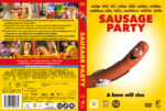 Sausage Party (2016) R2 DVD Nordic Cover