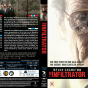 The Infiltrator (2016) R2 Blu-Ray Nordic Cover