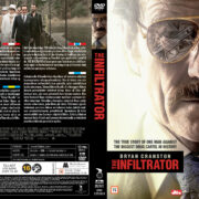 The Infiltrator (2016) R2 DVD Nordic Cover