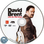 David Brent: Life On The Road (2016) R4 DVD Label