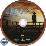 Little Boy (2015) R4 DVD label