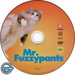 Mr Fuzzypants (2016) R4 DVD Label