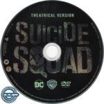 Suicide Squad (2016) R4 DVD Label