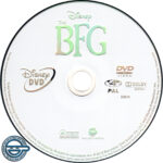 The BFG (2016) R4 DVD Label
